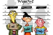 Wipeout with Ed Edd n Eddy