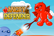 Defender Angry