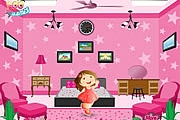 Chambre Rose Barbie