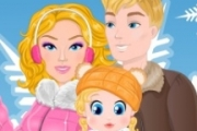 Barbie Winter Family voyage