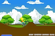 Bart Simpson Jeu de bicyclette