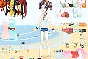 Beach Doll Dressup