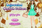 Bejeweled Stylish Collars