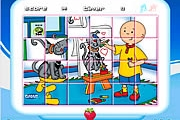 Caillou Rotation Puzzle