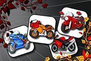 Cartoon Motorbikes Memory