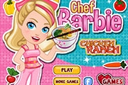 Le chef Barbie - Chicken Ramen