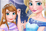 Disney Snow Flakes Winter Ball
