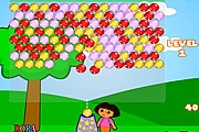 Bubble shooter Dora