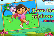 Dora L'Explorateur Coloriage
