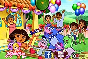 Dora's Birthday Hidden Letters