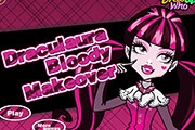 Draculaura Bloody Makeover