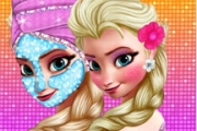 얼어 붙은 Elsa Royal Makeover