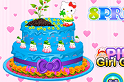 Hello Kitty Spring Cake