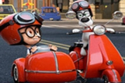 Hidden Letters-Mr Peabody and Sherman
