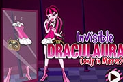 Invisible Draculaura Habillage