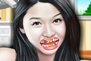 Jun Ji Hyun at Dentist