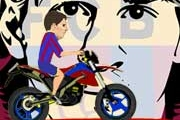 Lionel Messi Bike Ride