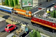 Modern Train Driving Simulator: City Train Games