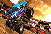Monster Truck Desert Racing Jeu 3D 2019
