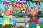 M. et Mme Hippo Dress Up