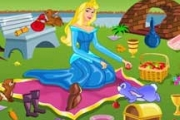 Princess Aurora Picnic Cleaning