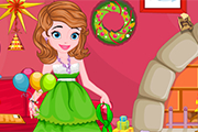 Princess Sofia Christmas Clean Up