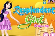 Resplendent Girl Dress up