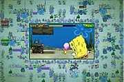 Spongebob Squarepants atlantic Squarepants Bus Rush