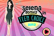 Selena in 2013 Teen Choice Awards
