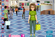 Shopping Girl Dressup