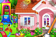 Sweet Home Cleaning: Jeu de maison de princesse