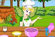 Tinkerbell Fairy Wedding Cake Prep