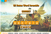 미국 주 (US States) Word Scramble